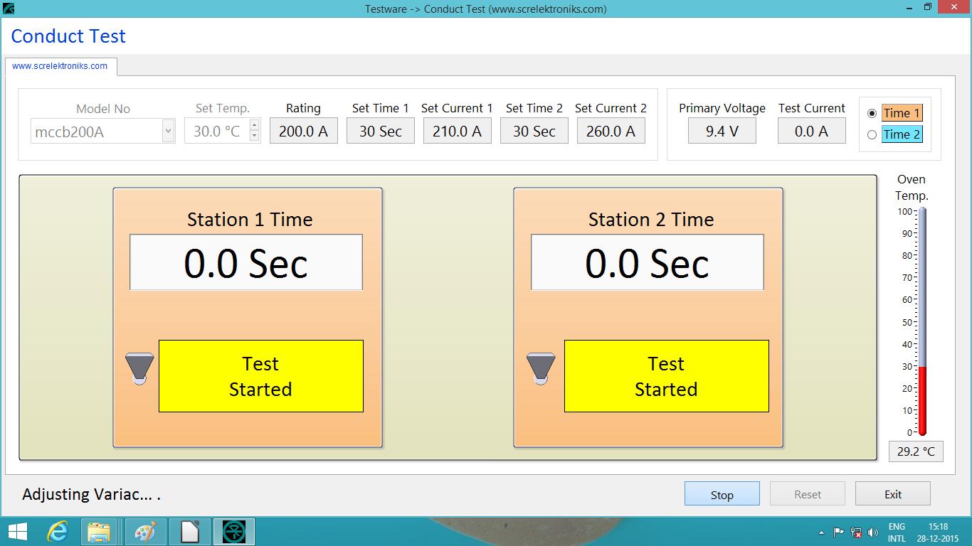 21-TestScreen-AdjustingVariac