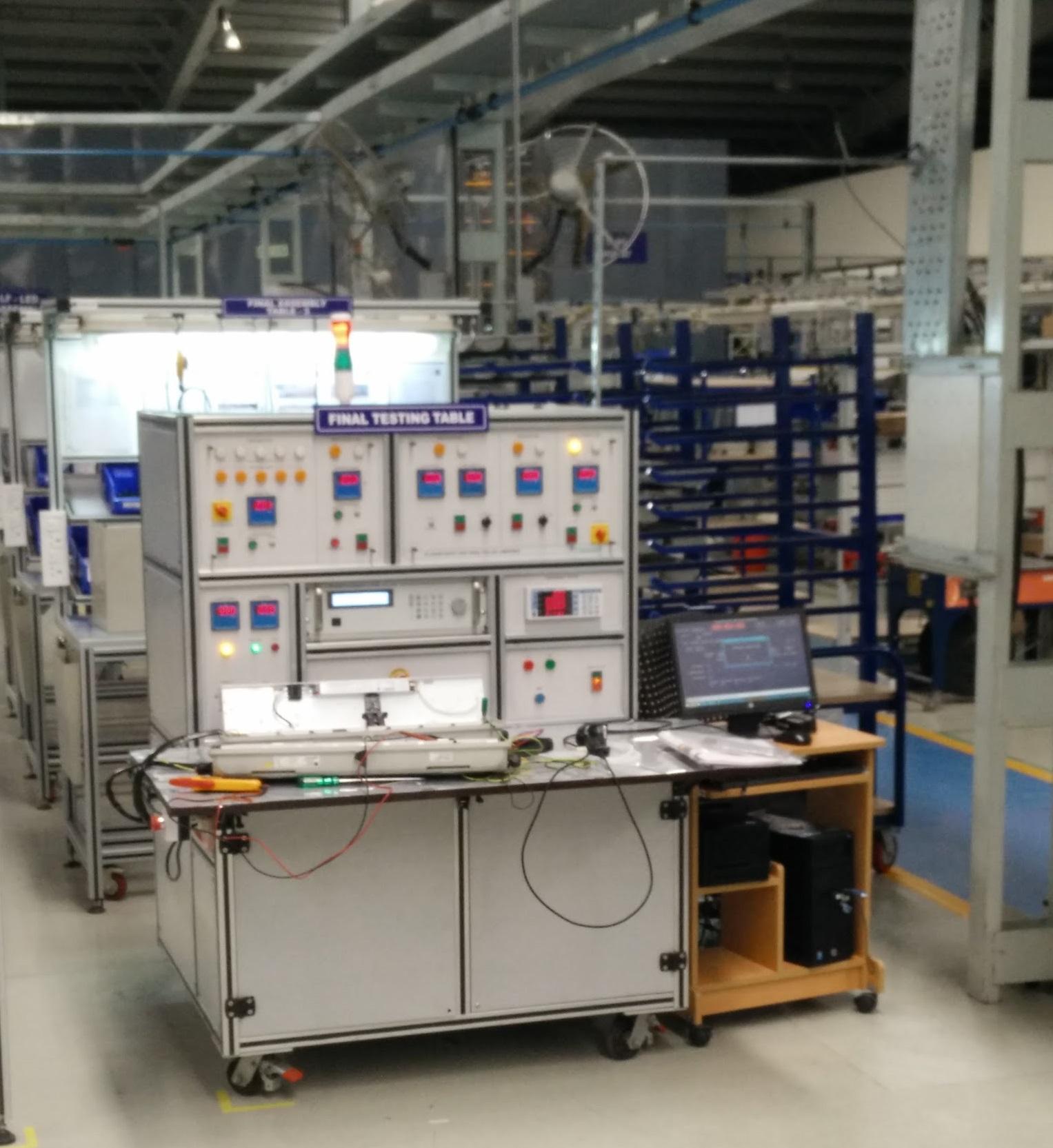 LED Luminary Test Equipment