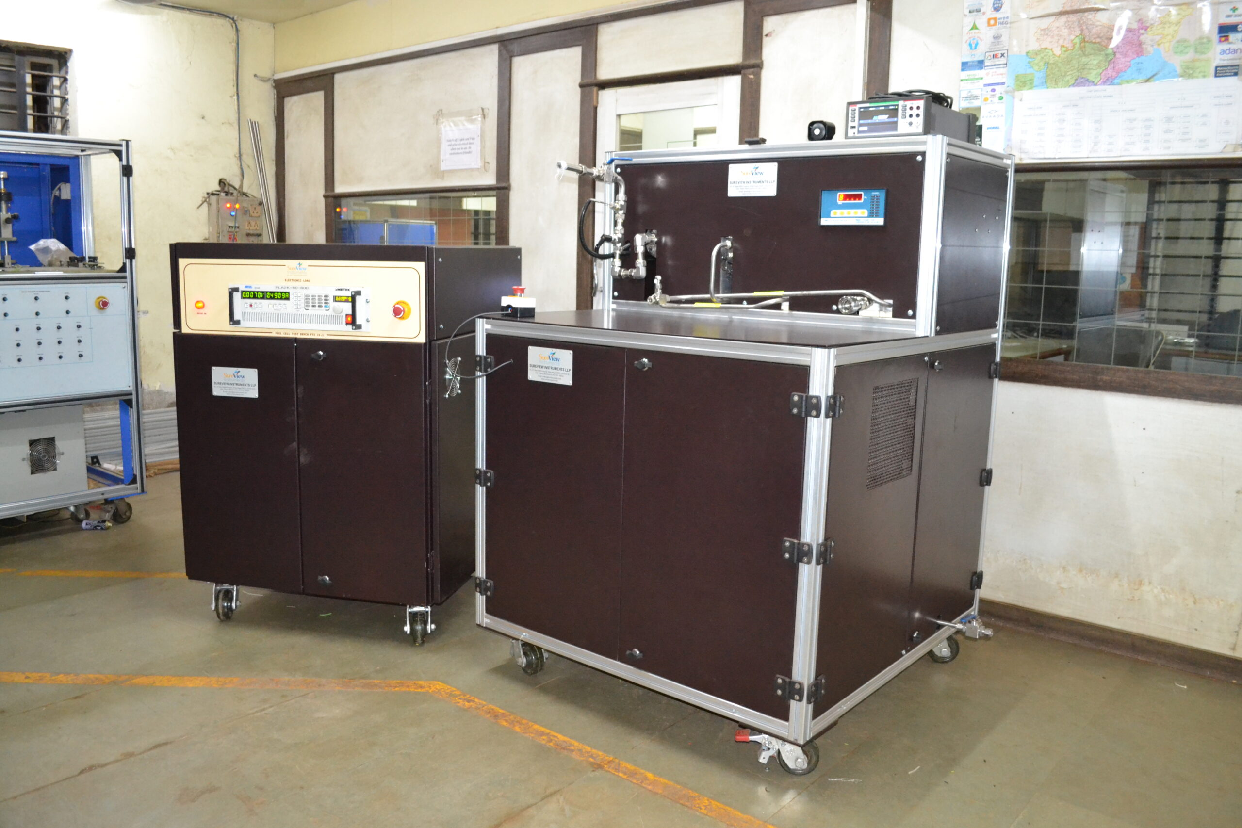 Fuel cell test equipment